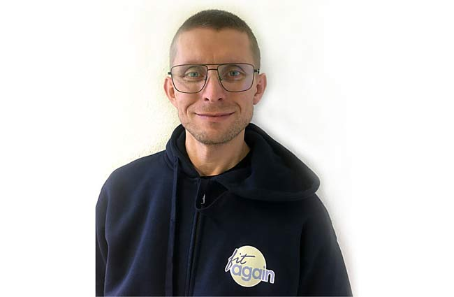 Viktor Ettle, Rezeptionsmitarbeiter Team fitagain, Praxis für Physiotherapie in Köln-Junkersdorf